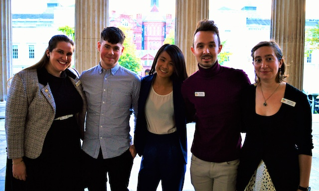 Members of the Student Engagement Team.