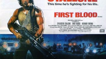 First Blood film poster. Via Wikipedia