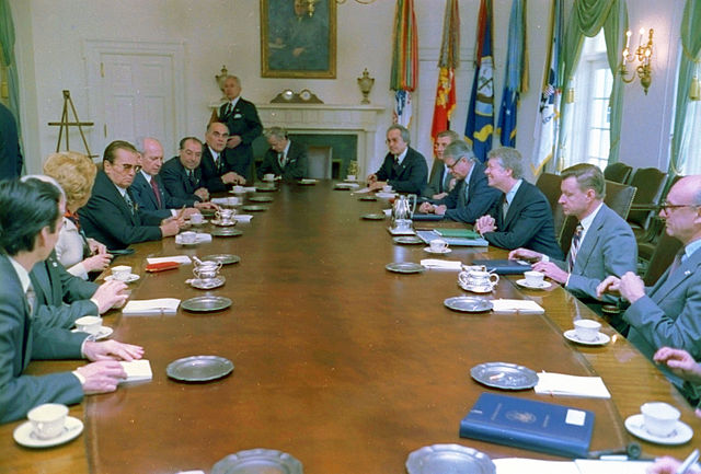 US-Yugoslav summit, 1978. Via Wikipedia.