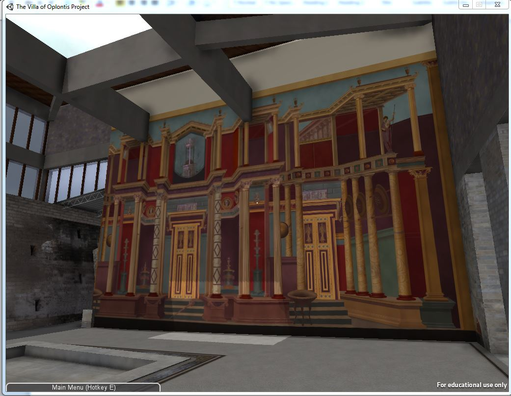 Https Notevenpast Org New Digital Technologies Bring Ancient Roman Villa To Life