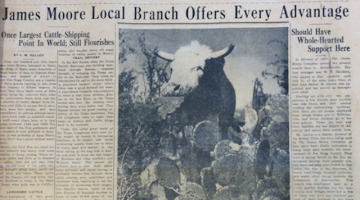 Image of the front page of Jim Hogg County Enterprise (Hebbronville, TX), March 9, 1939.