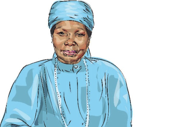 Painting of Grace Ogot, by Joseph Nyagah. Courtesy of the Daily Nation, Kenya.