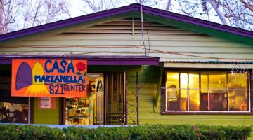 Casa Marianella, Austin, Texas. Courtesy of Casa Marianella.