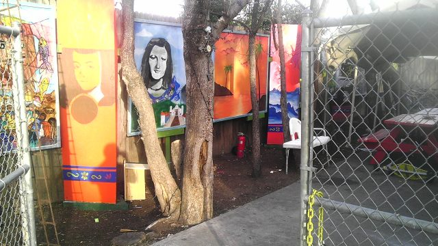 A mural honors the memory of Marianella García Villas. Photo courtesy of Casa Marianella.