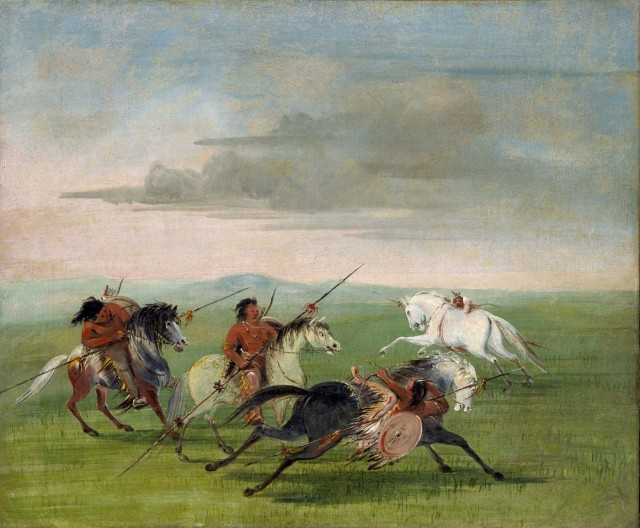 Comanche-Feats-of-Horsemanship-by-George-Catlin-1834-640x528