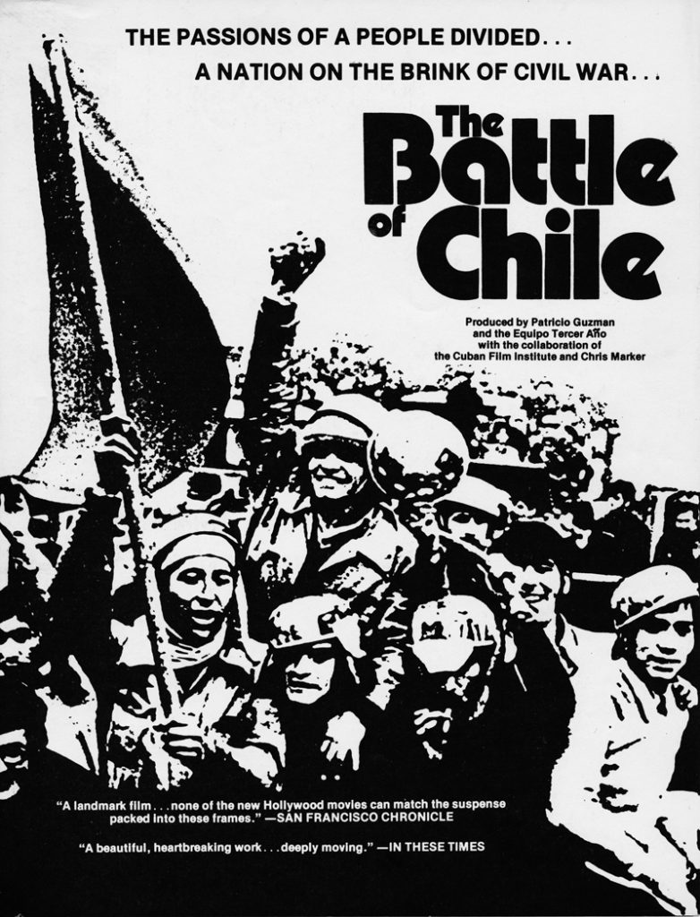 The Battle of Chile movie poster