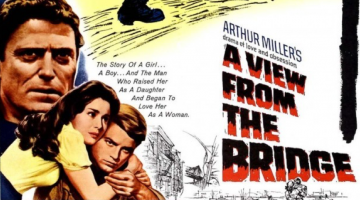 Movie poster of the movie of A View From The Bridge