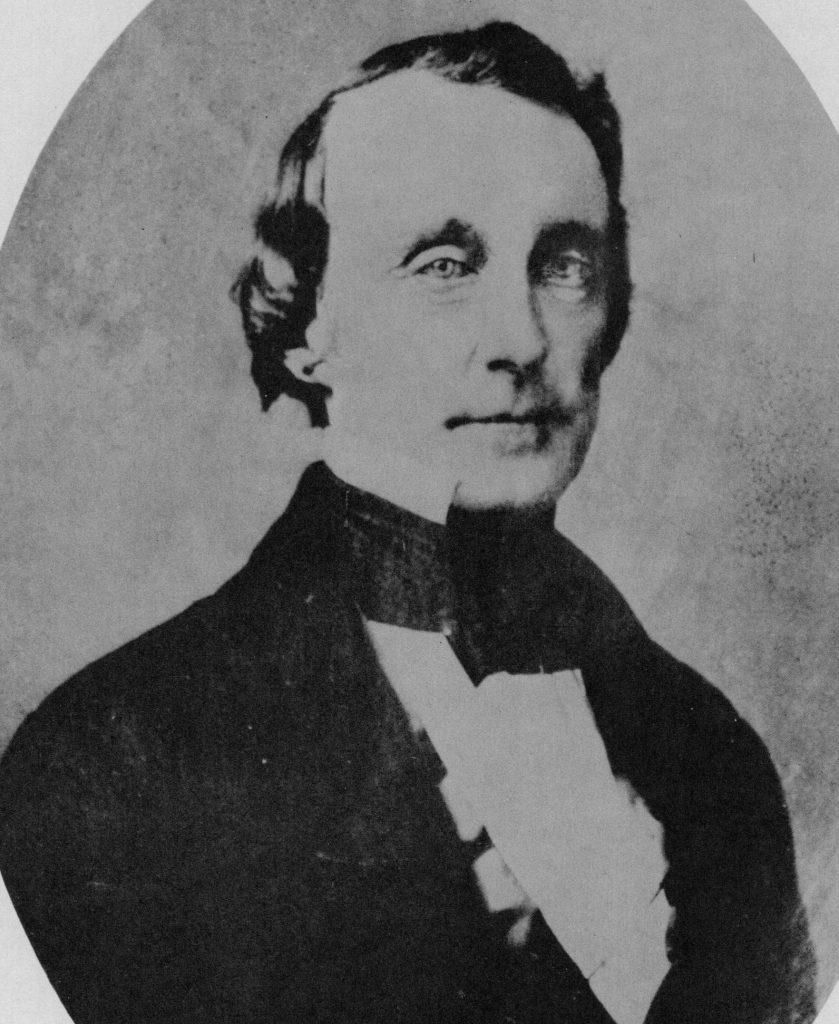 Black and white portrait of Rev. John McCullough