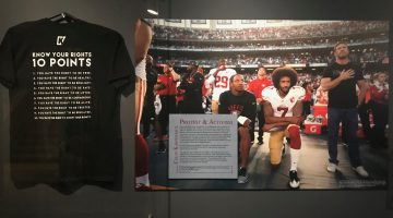 """Stand With Kap"": Athlete Activism at the LBJ Library"