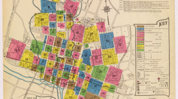 Austin Historical Atlas: Development During World War I