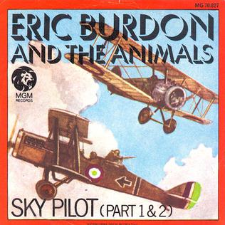 Sky Pilot cover shows two planes in the air