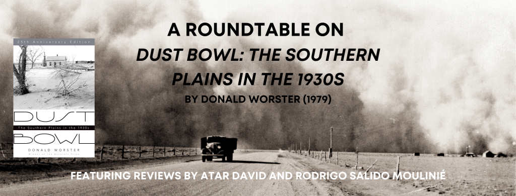 Dust Bowl: The Southern Plains in the 1930s, by Donald Worster (1979) Header Image