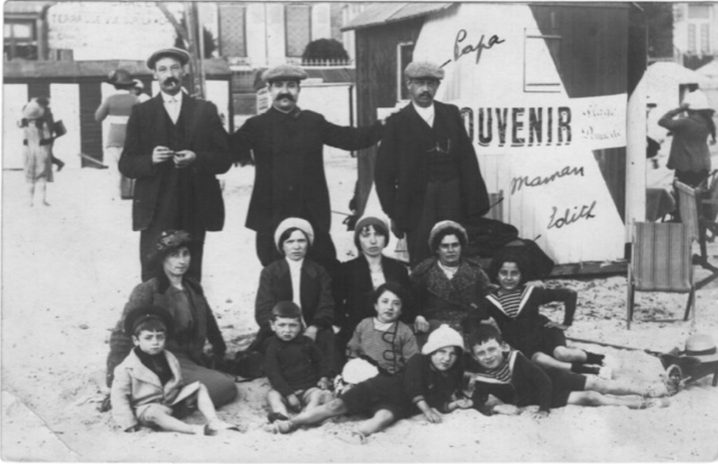 Finkelstein family at Le Crotoy circa 1912-13.