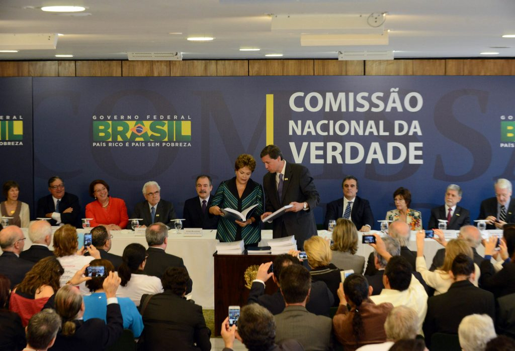 Members of the National Truth Commission delivers its final report to President Dilma Rousseff in 2014