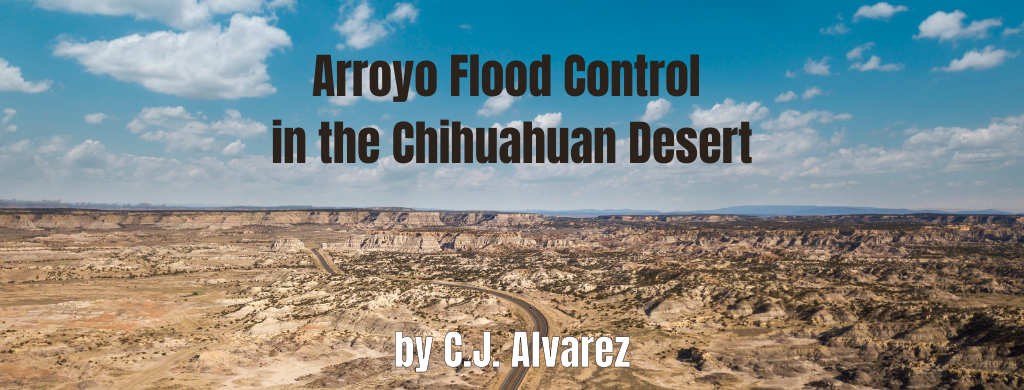 Arroyo Flood Control in the Chihuahuan Desert
