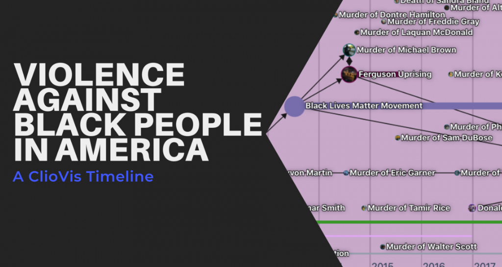 Violence Against Black People in America: A ClioVis Timeline