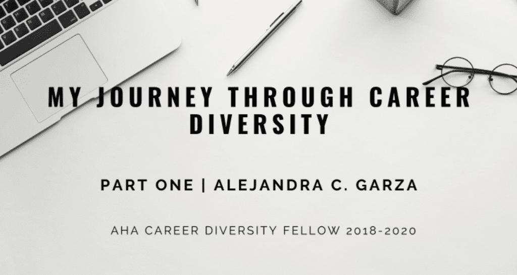 My Journey Through Career Diversity - Part One