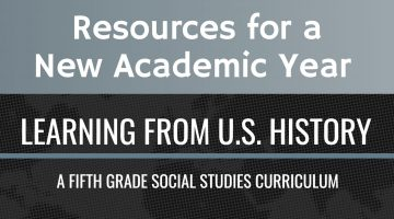 Resources for a New Academic Year