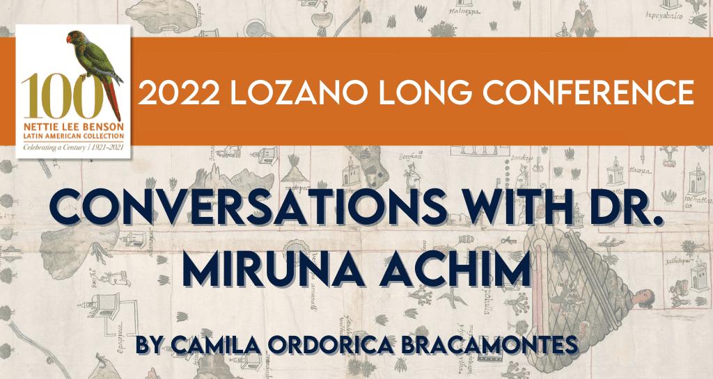 Conversations with Dr. Miruna Achim