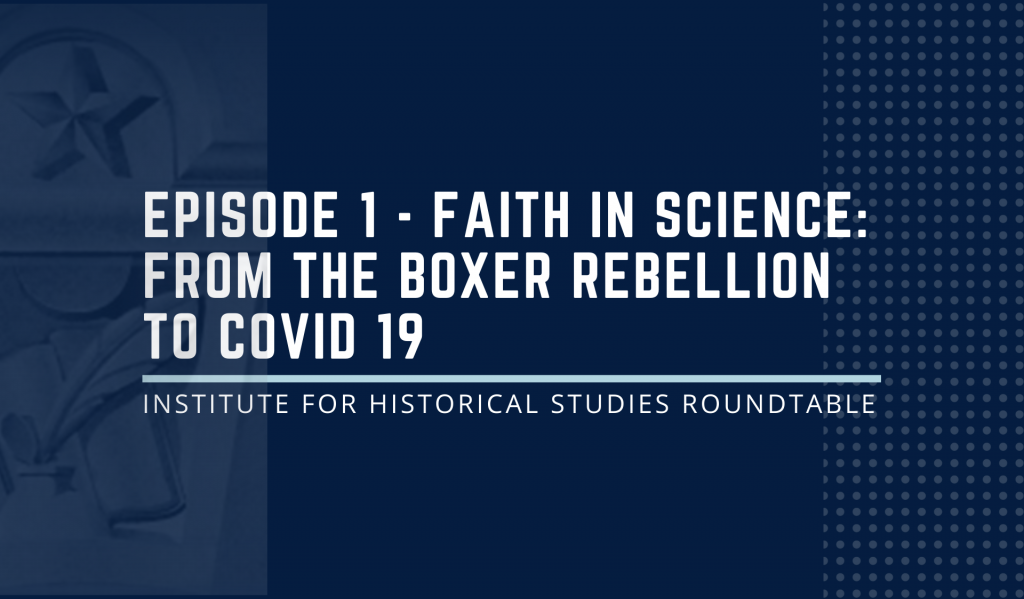 """IHS Podcast - Episode 1: Faith in Science? COVID, Antivaxxers, the State, and Epistemological Power."""""""