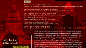 Prop A in the Context of Race and Policing in Austin, Texas: An Urgent Forum