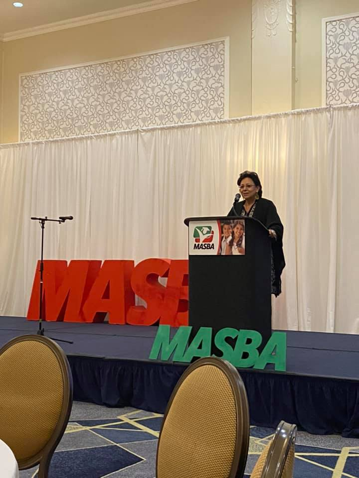 """Dr. Angela Valenzuela, UT Austin, Recipient of the Campana Award and Conference Keynote Speaker, """"Unmasking the Attack on """"Critical Race Theory as an Agenda to Deprive Our Access to the Inconvenient Truths of History."""""""